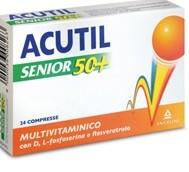 ACUTIL MULTIVITAMINICO SENIOR 50+24 COMPRESSE