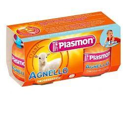 PLASMON OMOGENEIZZATO AGNELLO 80 G X 2 PEZZI