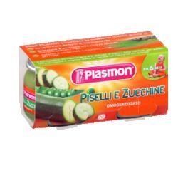 PLASMON OMOGENEIZZATO PISELLI/ZUCCHINE 80 G X 2 PEZZI