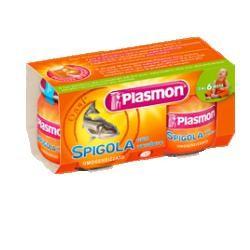 PLASMON OMOGENEIZZATO SPIGOLA/BRANZINO 80 G X 2 PEZZI
