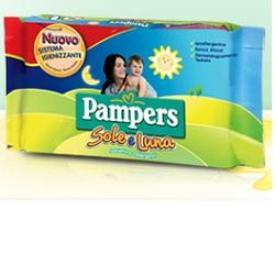 PAMPERS WIPES SOLE E LUNA6X72P