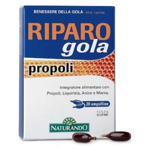 RIPARO GOLA PROPOLI 20 AMPOLLE BEVIBILI