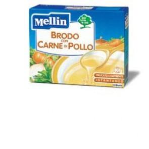 MELLIN BRODO CARNE POLLO 10 BUSTINE X 5 G