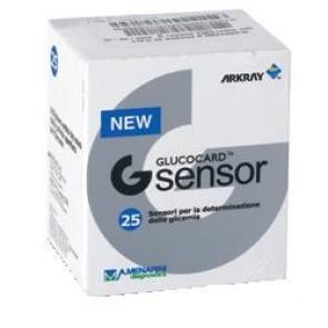Glucocard G Sensor 25 Strisce