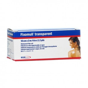 CEROTTO FIXOMULL TRANSPARENTE 10 X 200 CM