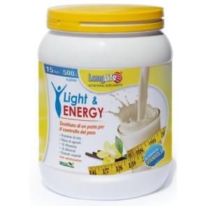 LONGLIFE LIGHT & ENERGY VANIGLIA 500 G