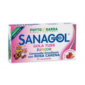 SANAGOL GOLA TUSS JUNIOR FRAGOLA 24 CARAMELLE