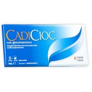 CADICIOC TAVOLETTA LATTE CON GLUCOMANNANO 100 G