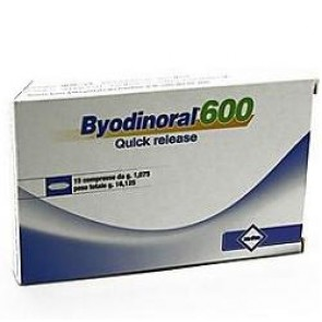 BYODINORAL 600 15 COMPRESSE