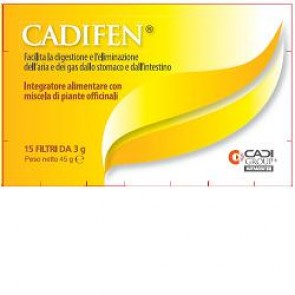CADIFEN 15 FILTRI 3 G