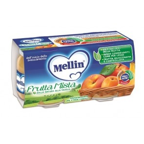 MELLIN OMOG FRUTMISTA 2X100G