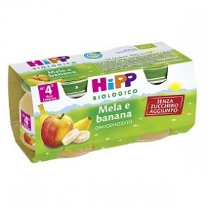 HIPP BIO HIPP BIO FRUTTA GRATTUGGIATA MELA BANANA 4X100 G