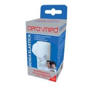 BENDA ELASTICA CEROXMED 8X450 CM CON GANCIO 1 PEZZO