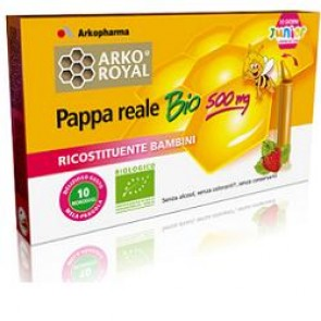 ARKOROYAL PAPPA REALE BIOLOGICA 500 MG 10 UNICA DOSE