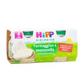 HIPP BIO HIPP BIO OMOGENEIZZATO FORMAGGINO MOZZARELLA 2X80 G