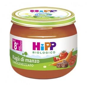 HIPP BIO HIPP BIO OMOGENEIZZATO SUGO RAGU' DI MANZO 2X80 G