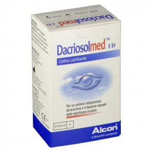 DACRIOSOLMED UD COLLIRIO LUBRIFICANTE 30 FLACONCINI MONODOSE 0,4 ML