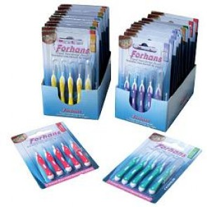FORHANS TRAVEL INTERDENTAL BRUSH 1,2