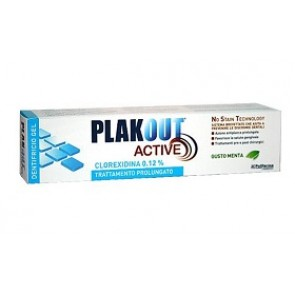 PLAK OUT ACTIVE DENTIFRICIO 0,12% 75 ML
