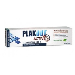 PLAK OUT ACTIVE DENTIFRICIO 0,20% 75 ML