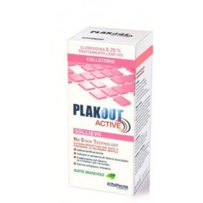 PLAK OUT ACTIVE SOLLIEVO 200 ML
