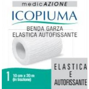 GARZA ELASTICA ICOPIUMA AUTOFISSANTE 10X20