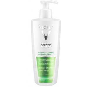 DERCOS SH ANTIPEL GRAS 400ML