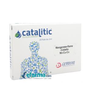 CATALITIC OLIGOELEMENTI MANGANESE RAME COBALTO MN-CU-CO- 20 AMPOLLE