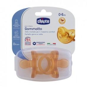 CHICCO GOMMOTTO IN CAUCCIU' 0-6 MESI 2 PEZZI