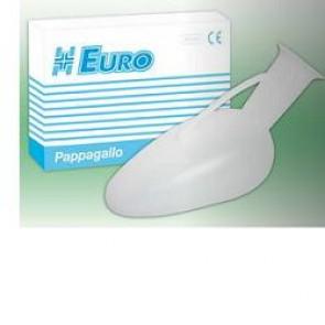 PAPPAGALLO PER AMMALATI IN POLIPROPILENE 1 PEZZO CONFEZIONATO IN CARTONE