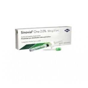 SIRINGA INTRA-ARTICOLARE SINOVIAL ONE ACIDO IALURONICO 2% 2,5 ML