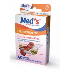 CEROTTO MEDS STRIPS KIDS IPOALLERGENICO ASSORTITI 40 PEZZI