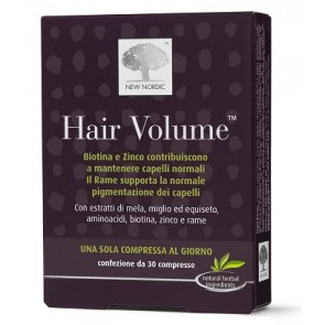 HAIR VOLUME INTEGRATORE ALIMENTARE BLISTER 30 COMPRESSE
