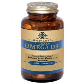 ADVANCED OMEGA D3 120 PERLE SOFTGELS