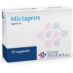 MICTAPROX 10 SUPPOSTE 2 G