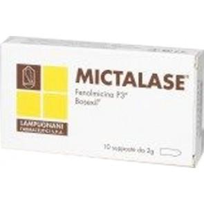 MICTALASE 10 SUPPOSTE 2 G