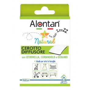 ALONTAN NATURAL CEROTTO ANTIZANZARA CEROTTO ADESIVO 21 PEZZI