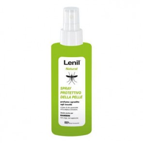 LENIL NATURAL SOLUZIONE ANTIZANZARA IN FLACONE + POMPA SPRAY 100 ML