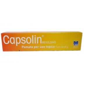 CAPSOLIN REVULSIVO TUBO 40 G