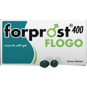 FORPROST 400 FLOGO INTEGRATORE ALIMENTARE 15 CAPSULE MOLLI