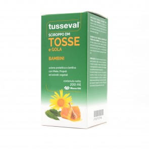 TUSSEVAL SCIROPPO TOSSE BAMBINI 200 ML