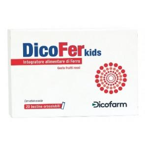 DICOFER KIDS 20 BUSTINE OROSOLUBILI