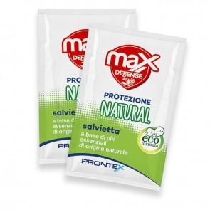 PRONTEX MAX DEFENSE SALVETTINE NATURAL 15 PEZZI
