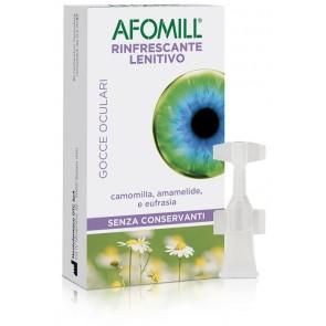 AFOMILL RINFRESCANTE SENZA CONSERVANTI 10 FIALE DA 0,5 ML