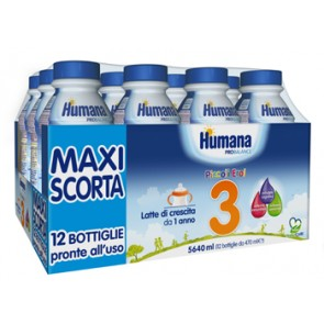 HUMANA 3 MULTIPACK 12X470 ML HDPE