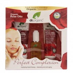 DR ORGANIC ROSE ROSA PERFECT COMPLEXION GIFT PACK