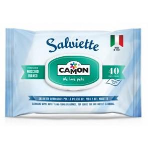 SALVIETTE MUSCHIO BIANCO 40 SALVIETTINE