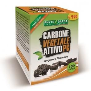 CARBONE VEGETALE PG 100 COMPRESSE