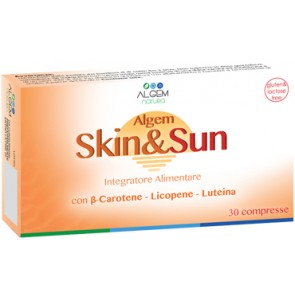 ALGEM SKIN & SUN 30 COMPRESSE