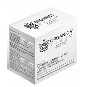 ORGANICS PHARM DANDRUFF CONTROL LOTION NEEM OIL, TEA TREE AND PENTAVIN 6 FIALE DA 6 ML